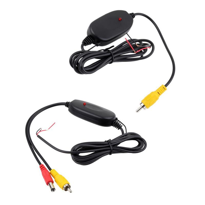 12V 2.4G Wireless Transmier & Receiver for Car Reverse Rear View Camera Car Electronics Accessories Universal GPS