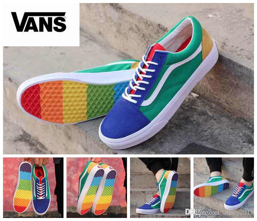 a7cc198cee Buy 2 OFF ANY vans old skool rainbow skate shoe CASE AND GET 70% OFF!