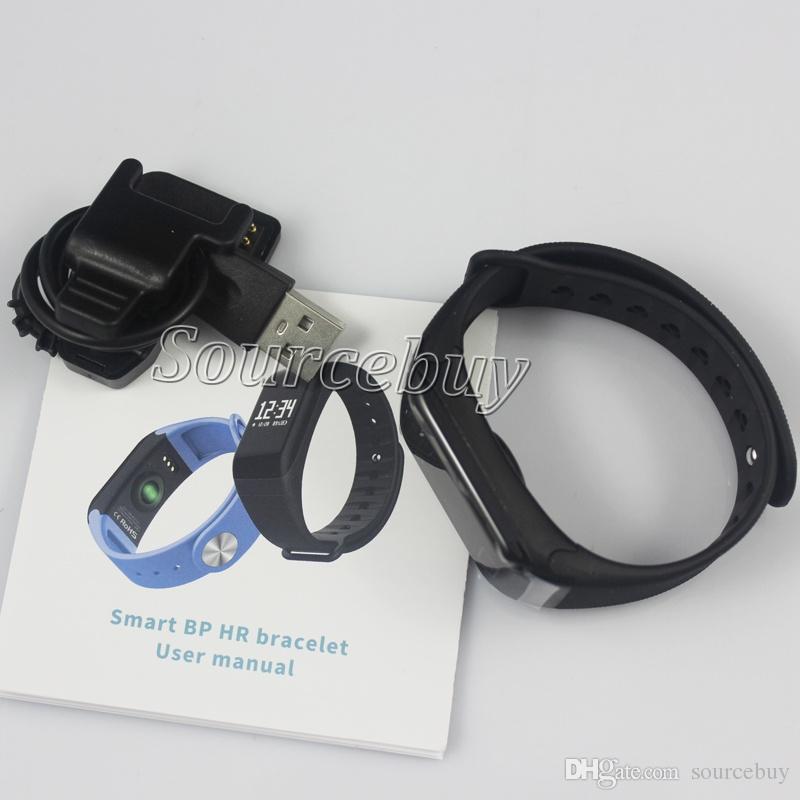 Latest Waterproof F1 Smart band Wristband Sport Watch Intelligent Bracelet Call Reminder Step Pulse Heart Rate Blood Oxygen Pressure Monitor