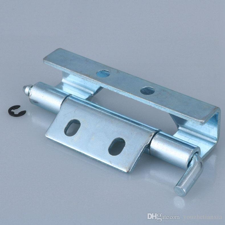 2 Pieces Iron Door Hinge Electric Box Switchgear