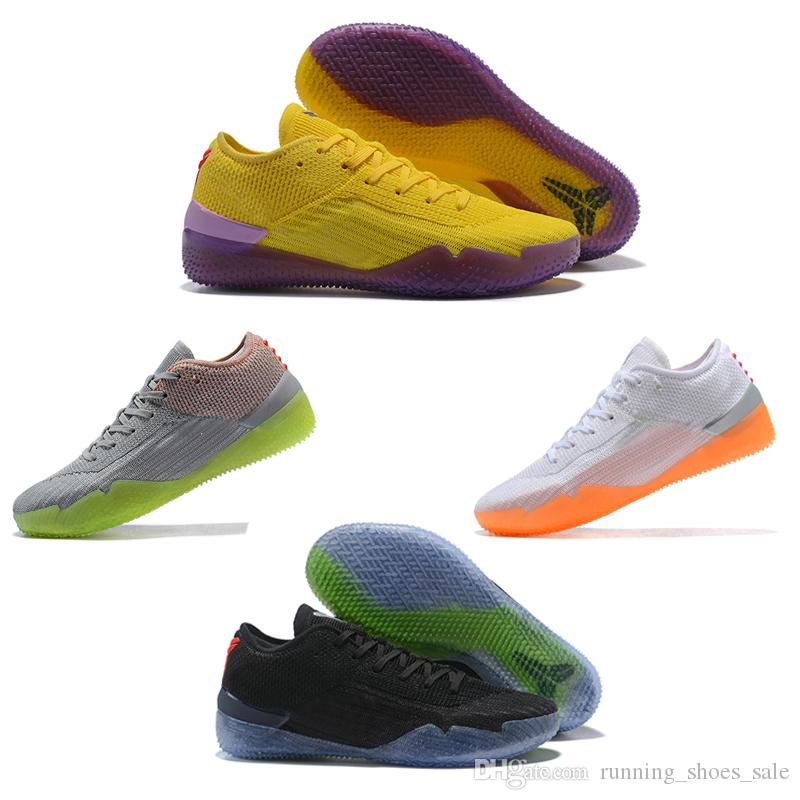 Hot Kobe A D Nxt 360 Yellow Strike Mamba Day Multicolor Mens