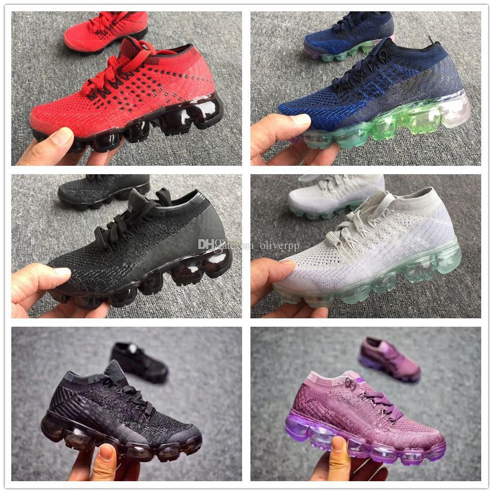 brand new d879e dfae8 Compre Nike Air Max Airmax Vapormax Niños Del Bebé Presto Air Flair  Zapatillas Para Correr Niños Zapatos Deportivos Niños Niñas Entrenamiento  Violeta Mosca ...