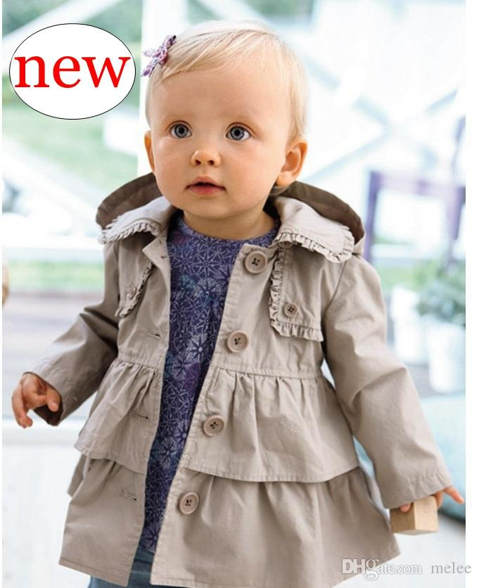 17796147a Retail INS Kids Clothing New Baby Toddler Girls Lapel Waistband ...