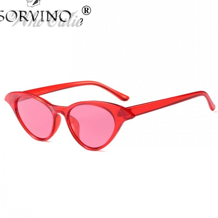 0708ddb4c72e SORVINO 2018 Cat Eye Sunglasses Women Brand Designer 90s Vintage Modern  Cateye Frame Narrow Retro Tint Sun Glasses Shades 599 Cheap Sunglasses Mens  ...