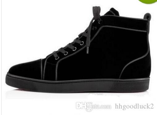 e607d1ebcf4 Handmade Luxury Designer Red Bottom Sneakers Fashion Brand France ...