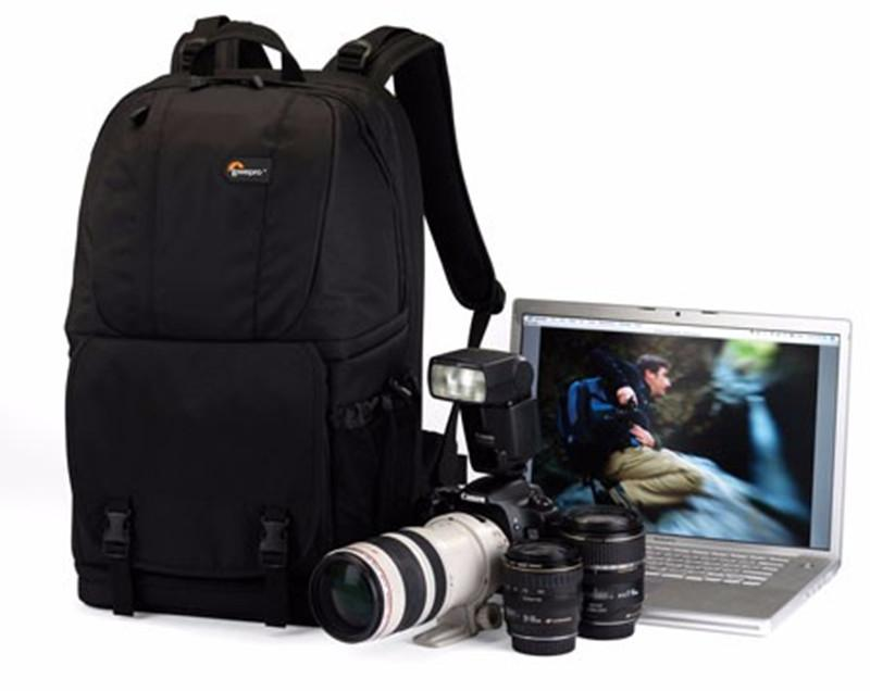"Promotion Sales Genuine Fastpack 350 AW Photo DSLR Camera Bag Digital SLR Backpack laptop 15.4"" with All Weather Cove"