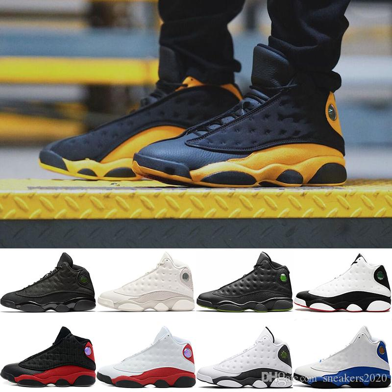 online store 1ab36 22342 He Got Game 13 13s Men Basketball Shoes Melo Class of 2002 Phantom Black  Cat Bred Chicago Cheap Designer Athletic Trainer Sports Sneakers