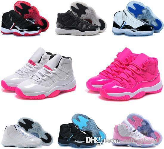 c6c26de1f6f310 2018 11s 11 New Concords 72 10 Legend Blue Cool Grey Womens Basketball Shoes  Cheap Space Jam Bred Gamma Blue Basket Ball Sneakers Best Basketball Shoes  ...