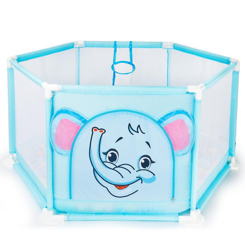 Gentil 2018 Kids Child Safety Game Fence Portable Plastic Baby Activity Playpen  Cartoon Baby Play Yard Indoor Safety Playard Game Fence From Breenca, ...