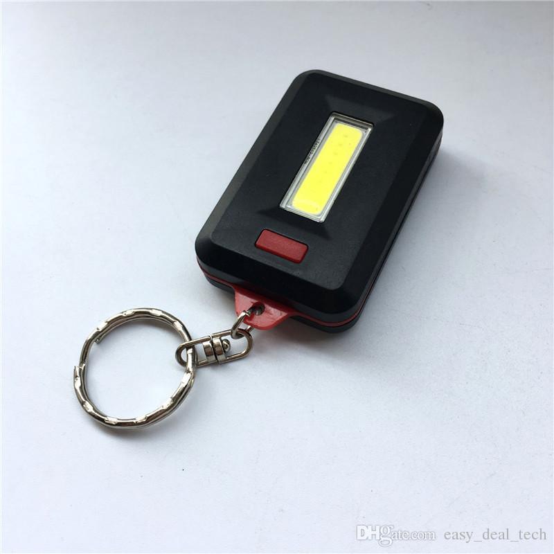 lampe de poche LED mini-torche clé clip anneau de la chaîne camping en plein air