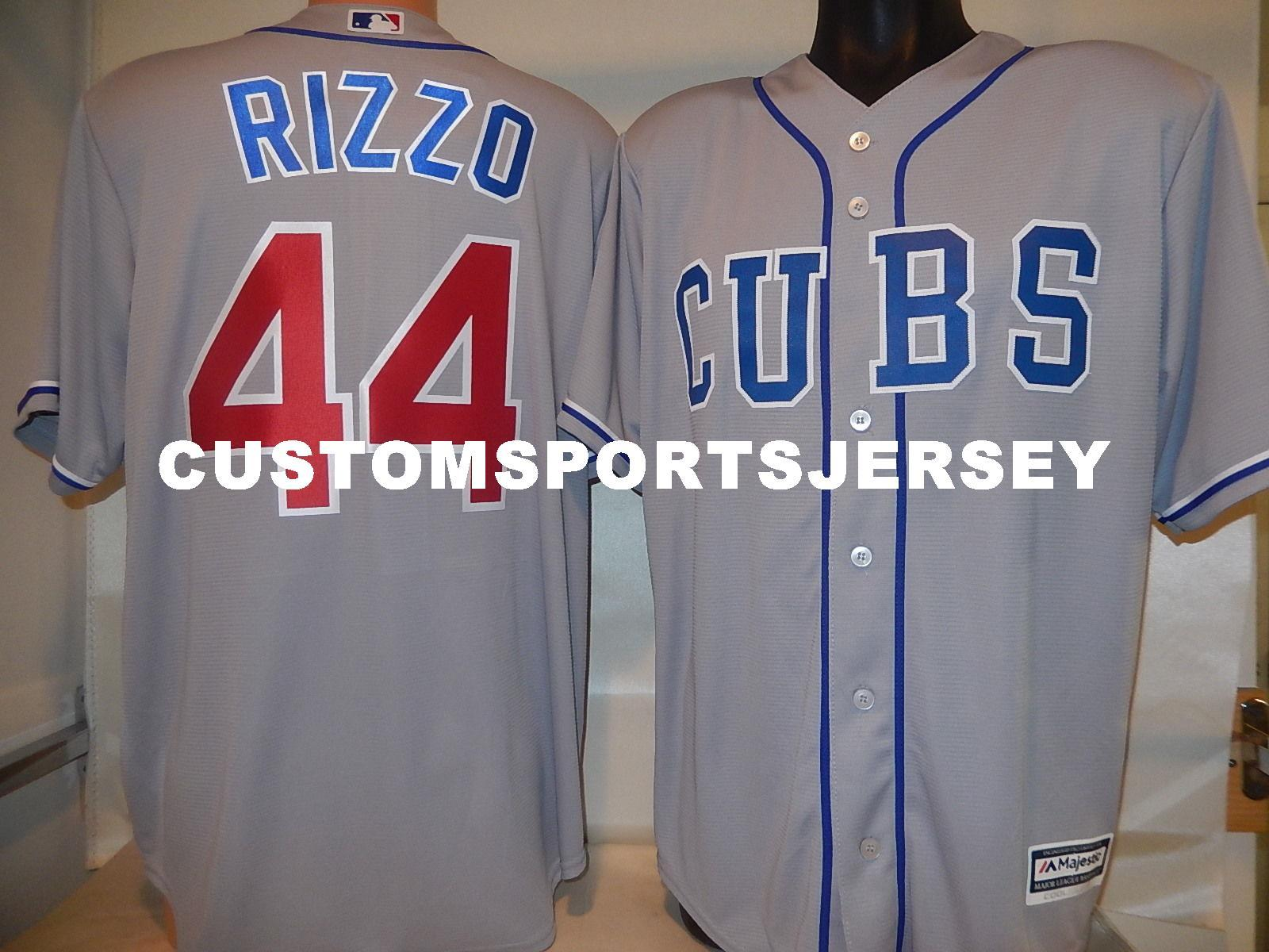 2019 Cheap Custom ANTHONY RIZZO Cool Base Baseball Jersey GRAY New Stitched  Customize Any Name Number MEN WOMEN BASEBALL JERSEY XS 5XL From ... 9bd327fbd