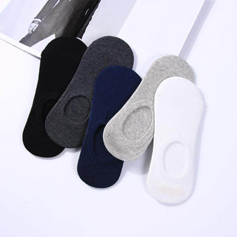 302e324ae63d 2019 Mens Bamboo Invisible Ankle Socks Men Summer Casual Loafer Moccasins No  Show Socks Male Black White Boat  From Bunnier
