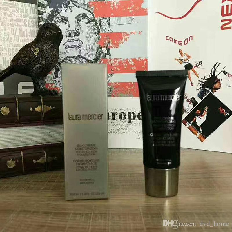 Laura Mercier Foundation Seda Crema Hidratante es Maquillaje de Cara de Alta Calidad SPF 30ml Base Base Envío Gratis