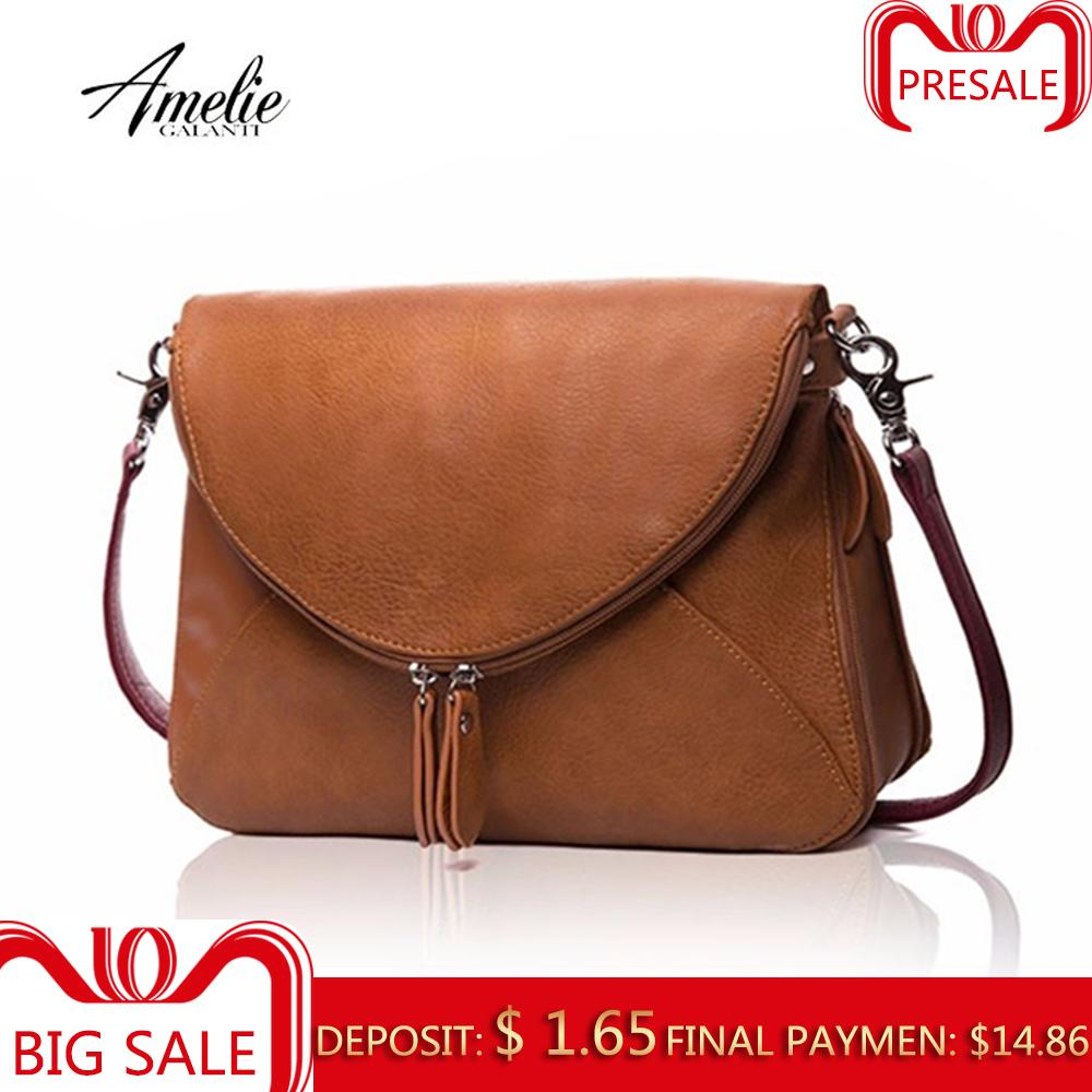 AMELIE GALANTI Handbags For Women Medium Crossbody Purse And Summer Handbag  Casual Zipper Over Shoulder Purse Soft Y18102603 Womens Bags Black Handbag  From ... c9ef24ba0e4b3