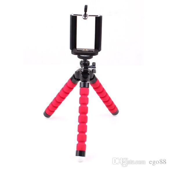 Universal Mini 360 Full Metal Rotating Extendable Mini Tripod + Stand Holder For Camera Phone 8 X Samsung S8 Mobile Cell Phone