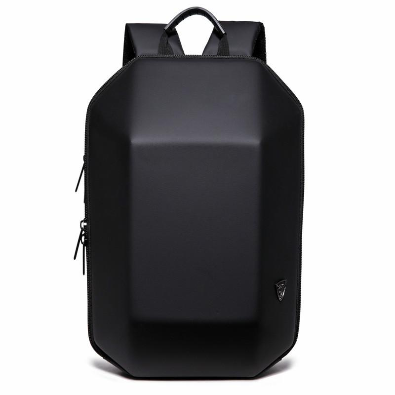 7592f93d1f 2018 New Designed 3D ABS Shell Backpack Simple Pure Color Computer ...