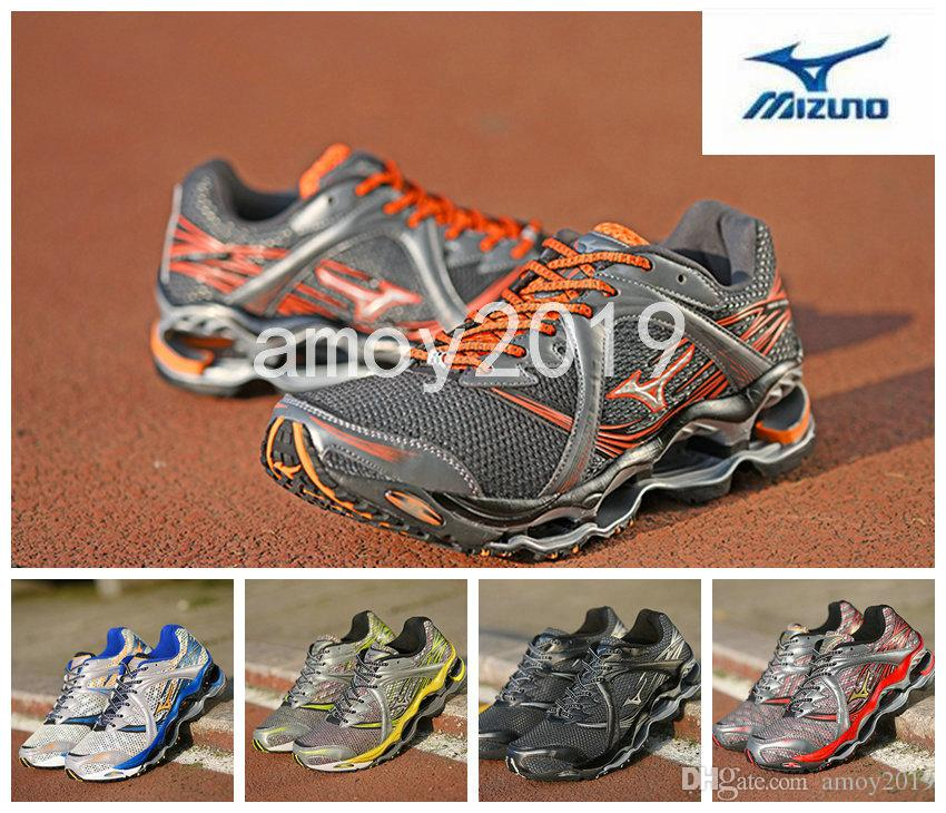 2018 New Arrive Authentic MIZUNO WAVE PROPHECY 1 Men Designer Sports  Running Shoes Sneakers Mizunos 1s Casual Mens Trainers Size 7 11 East Bay  Shoes Shop ... 04c48d7c2ae02
