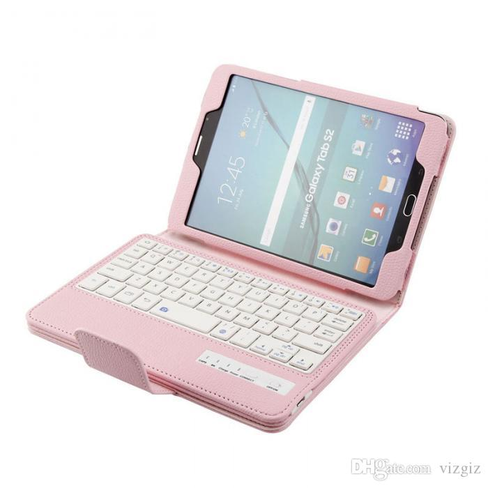 Tablet Cover Detachable Bluetooth Keyboard + PU Stand Case for Samsung galaxy Tab S2 8.0 inch Gift Great Deals XXM