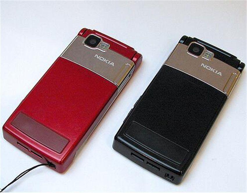 Reacondicionado Original Nokia N76 Flip Fold Teléfono desbloqueado Symbian 2.4 pulgadas Pantalla 2MP Cámara MP3 Bluetooth Teléfono barato Publicación gratuita