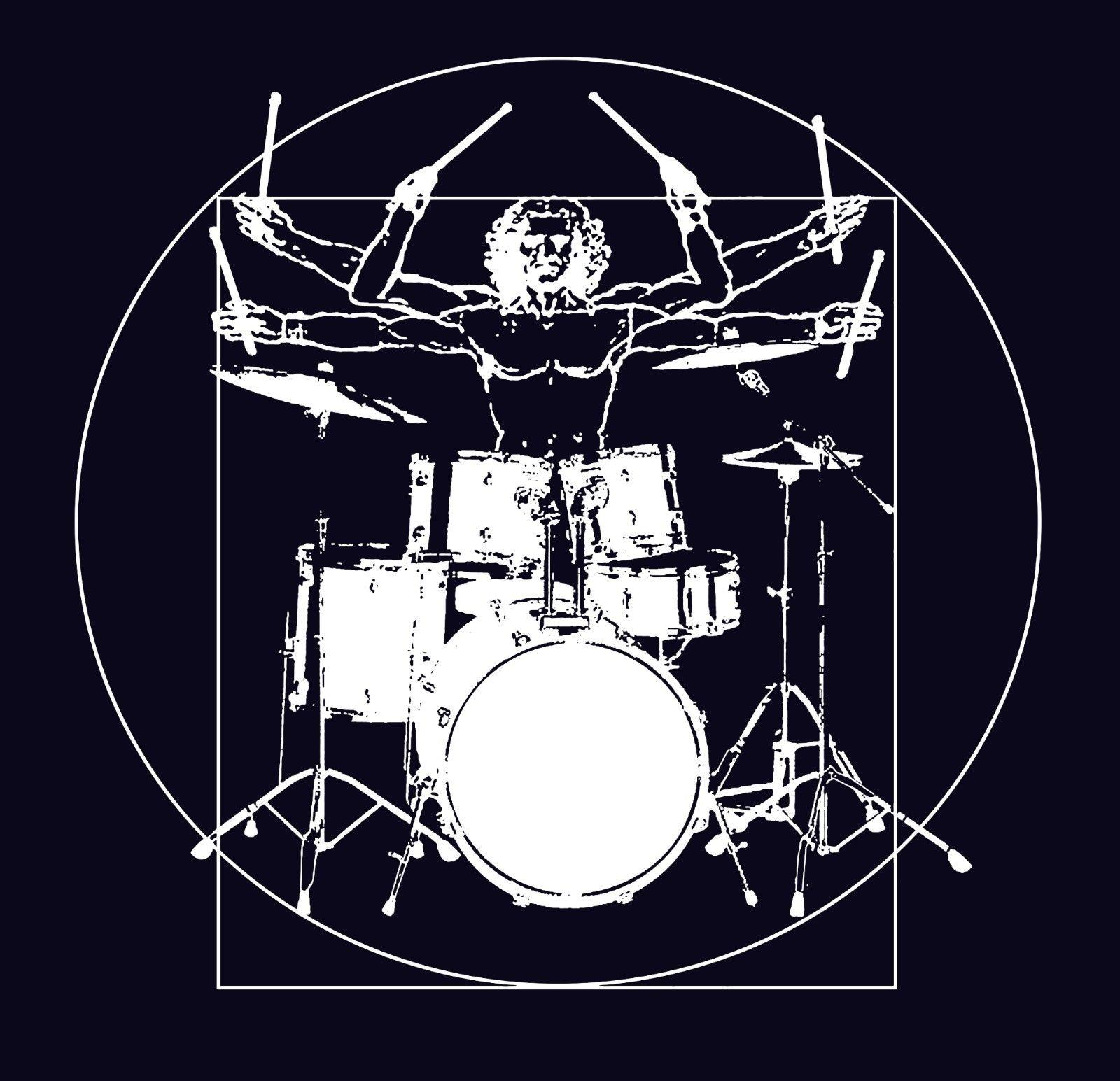 79103716 Drummer Vitruvian Man T Shirt Drum Set Print Music T Shirts Black Remix Funny  Funny Unisex Casual Gift With T Shirt T Shirts Shopping From  Free_will_shirts, ...