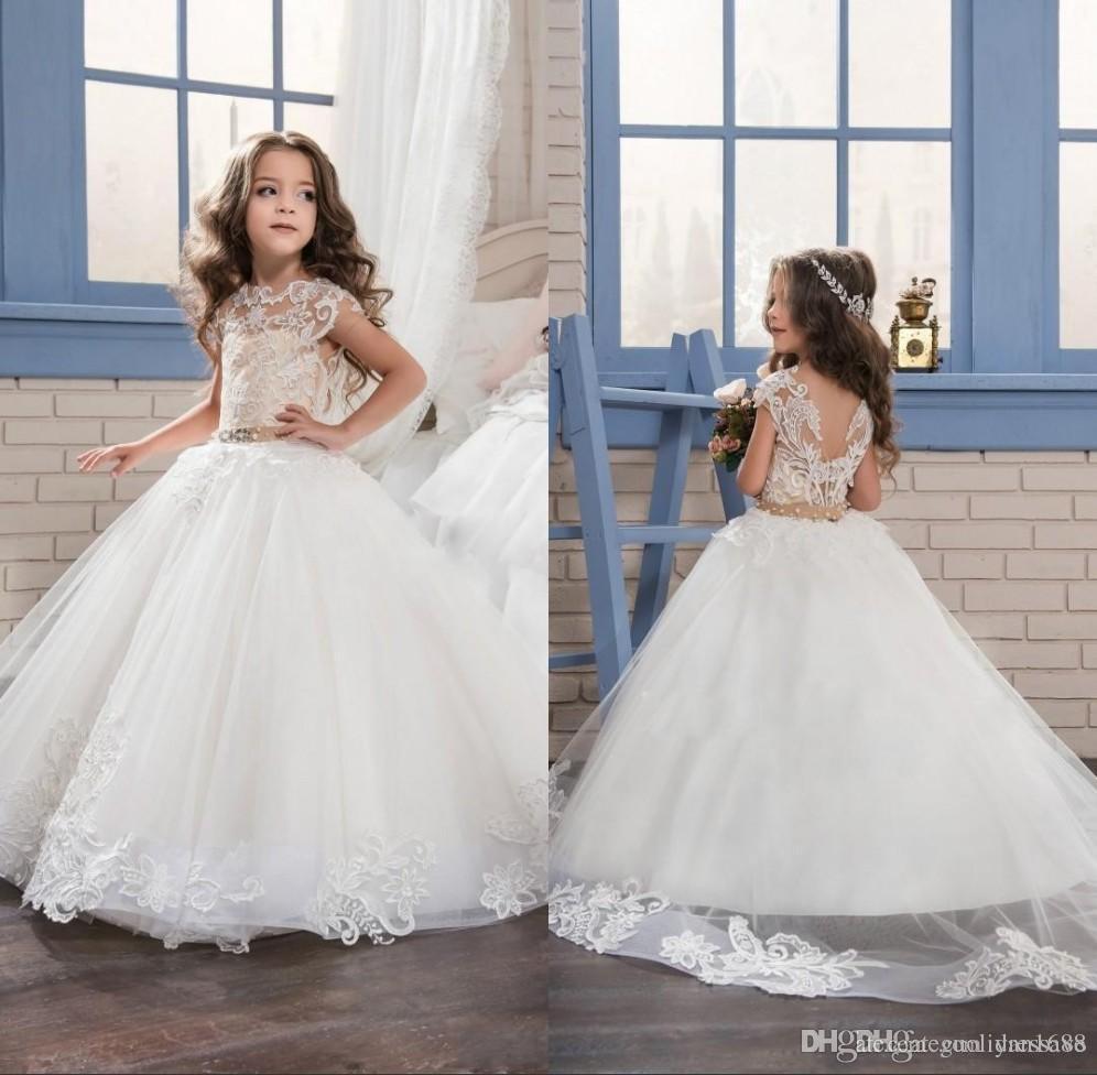 дети платье и цветок девушки платья идеальный Ангел бальное платье с мягкой тюль нижней и кружева аппликации девушки театрализованное платья