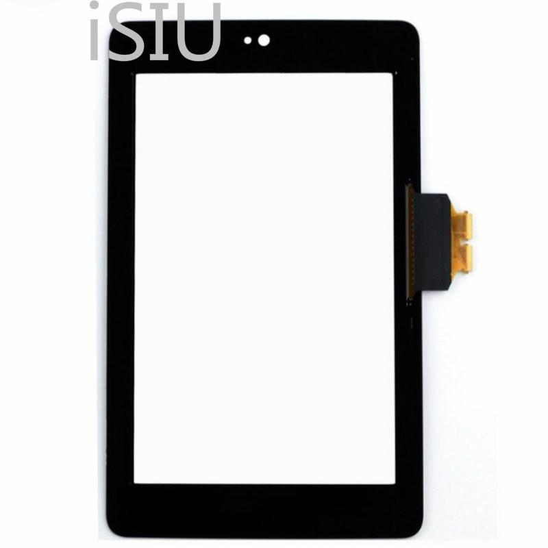 free shipping 48b9a 46c64 Tablet Touch Screen For Asus Google Nexus 7 1st Tab Touch Panel ME370  ME370T Front Cover Glass Lens 7.0 LCD Display Screen New