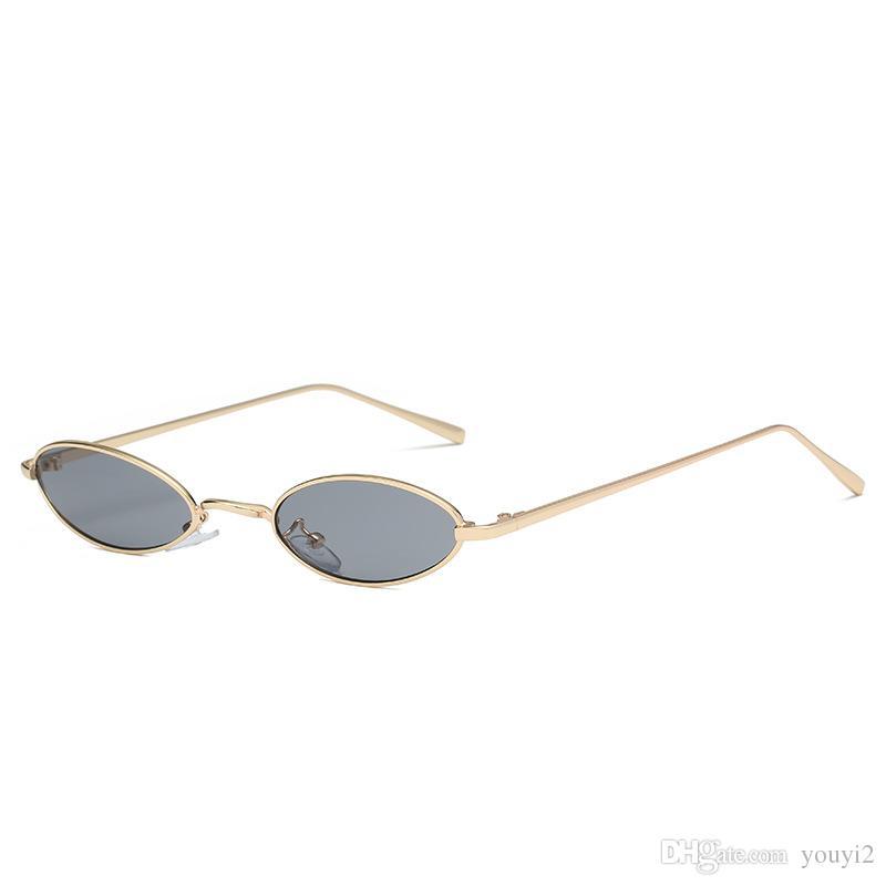 Compre 2018 Retro Cor Óculos De Sol Europa E América Pequeno Quadro Unisex  Rua Pat Coringa Óculos De Armação De Metal De Youyi2,  7.4   Pt.Dhgate.Com d3ac402457