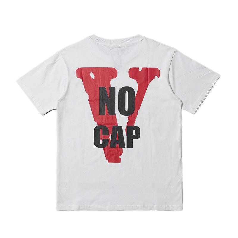 1840e22ee678 Cotton Clothing Tees Tops Vlone T Shirt Men Women High Quality 100 ...