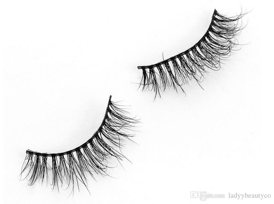 MA17 3D mink eyelashes 100% Siberian Mink hair False Eyelashes New Messy Luxurious Eyelash Fake Eye lashes 100% Siberian Mink hair