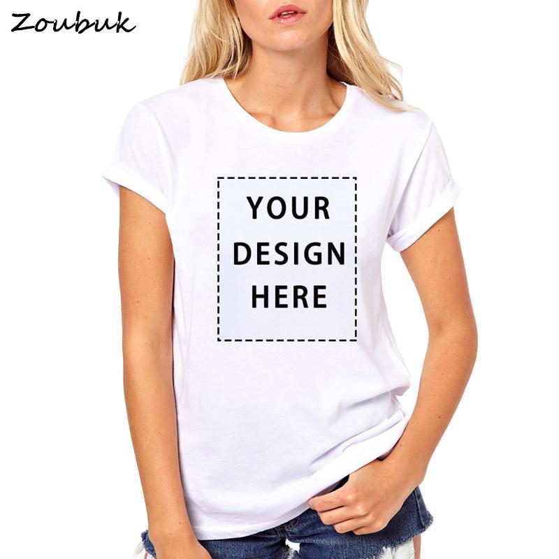 check-out e2fbc 9b91d Tee-shirt personnalisé Femmes Votre propre nom de texte personnalisé  Message personnalisé ou image Tee-shirt décontracté unisexe Tops Tee