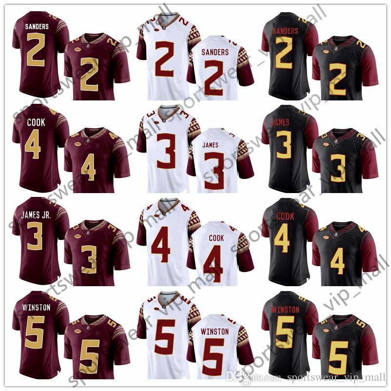 NCAA Florida State Seminoles Jersey 3 Derwin James 4 Dalvin Cook ... 6680225ed