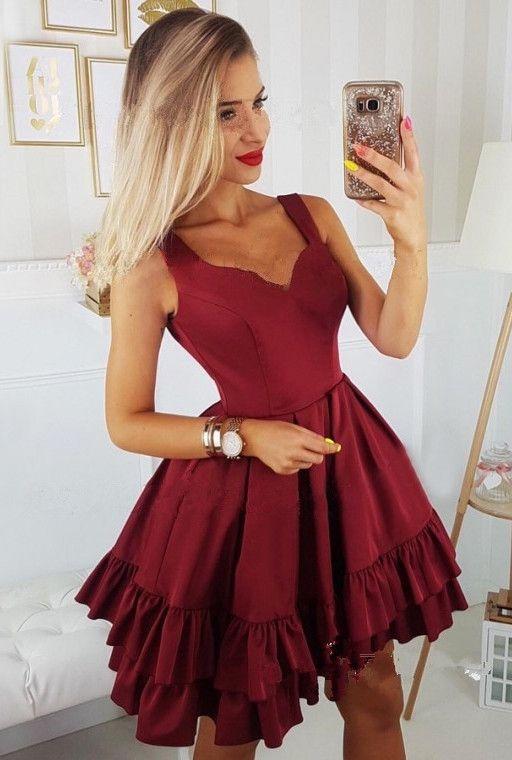 Vestidos cortos para ocasiones elegantes