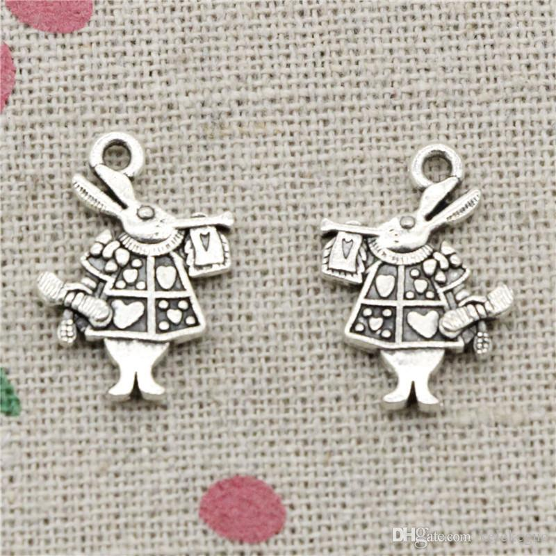 Retro smile faces leaves tibet silver charms pendant DIY Jewelry Finding 21*15mm
