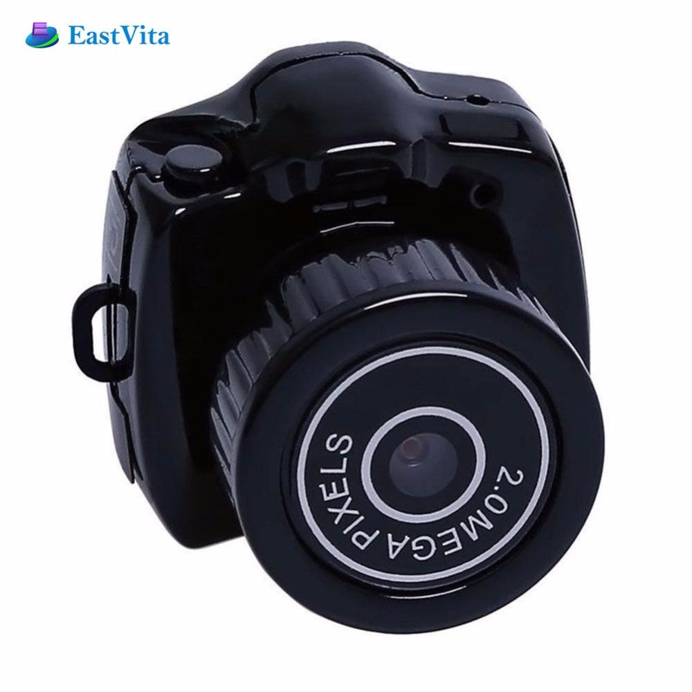 EastVita Mini Camera Y2000 Micro DVR Camcorder Portable Webcam Video Voice Recorder Camera 480P Micro Cam With Key Chain r30
