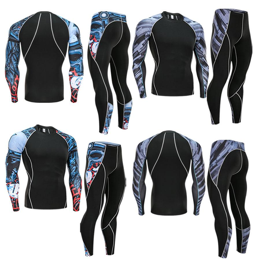 Thermal Underwear Fitness Compression Suit T Shirt Men S 3D Printing MMA  Crossfit Muscle Shirt Leggings Bottom Clothing Brand T Shirt And Shirt Shop  T ... 7795518f280c