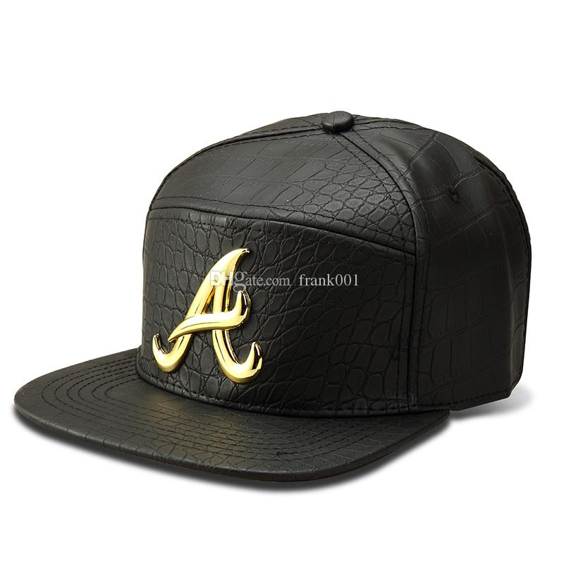 New Fashion Alumni Snapback Hat Gold A Letter Baseball Caps B-Boy Hip Hop Bone Gorras Hats For Men & Women Gif Three Color