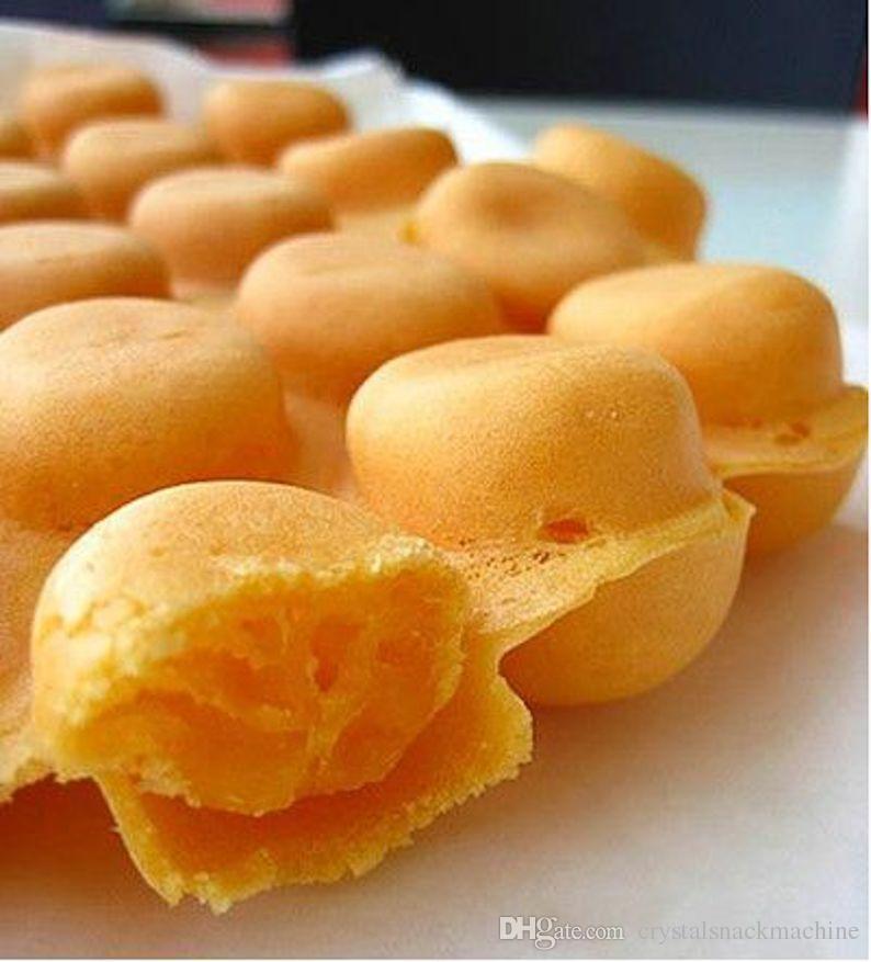 Ticari Kabarcık Waffle Makinesi Yapışmaz Dijital Hong Kong Popüler Yumurta Waffle Maker Elektrikli Snack Ekipmanları NP-810