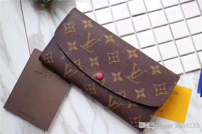 fd4cf7c06e26 Hot Sales Fashion Casual Long Style Designer Clutch Women Purse Brand Wallet  Caviar Leather Bifold Credit Card Holders Wallets Purse Wallets Wallets For  ...