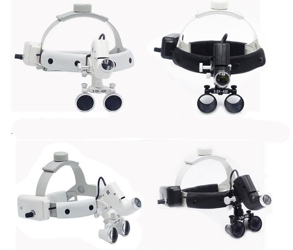 Dental Loupes With Head Light Lamp Head Wear Surgical Loupes With High Spot  Headlight Ac/Dc With Loupes Paper Star Lanterns Lantern From Pothos, ...