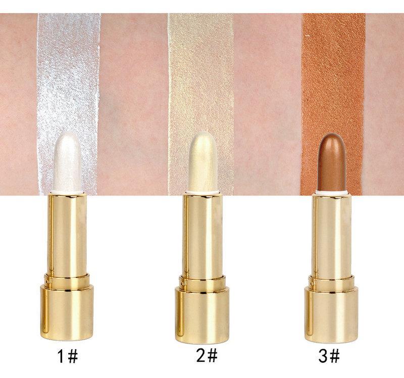 Handaiyan tiges de toilettage maquillage imperméable 3 couleurs stylo de toilettage rouge à lèvres cosmétique pour les femmes meilleur rouge à lèvres brillant maquillage maquillage pour les lèvres