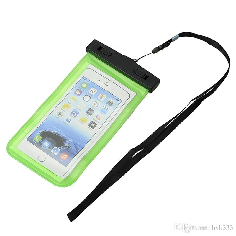 100% Waterproof Bag Case Pouch Dust Proof Underwater Pack Cover Case For Phone Travel Running Swimming Pouch k002