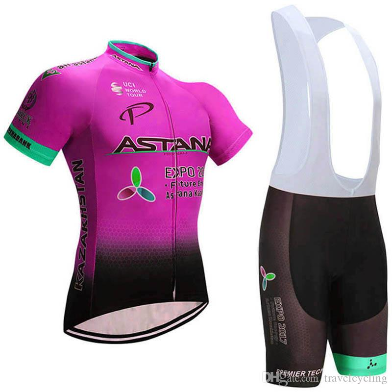ASTANA Summer Cycling Jersey Set Road Bike Clothing Short Sleeve ... ccdb2f3da
