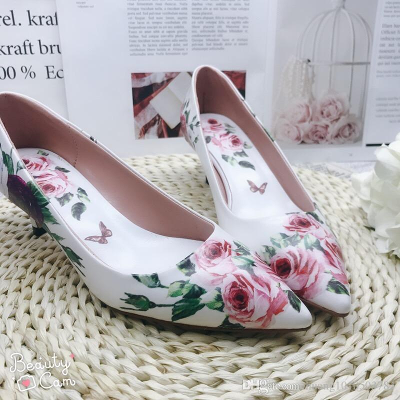 eb86333f982 D Home Italy Luxury Brand Designer Sandals Low Heel Wedding Shoes Floral  Print Women Sandals Slides Designer Heels High Heels Heels From  Guccidiorlv