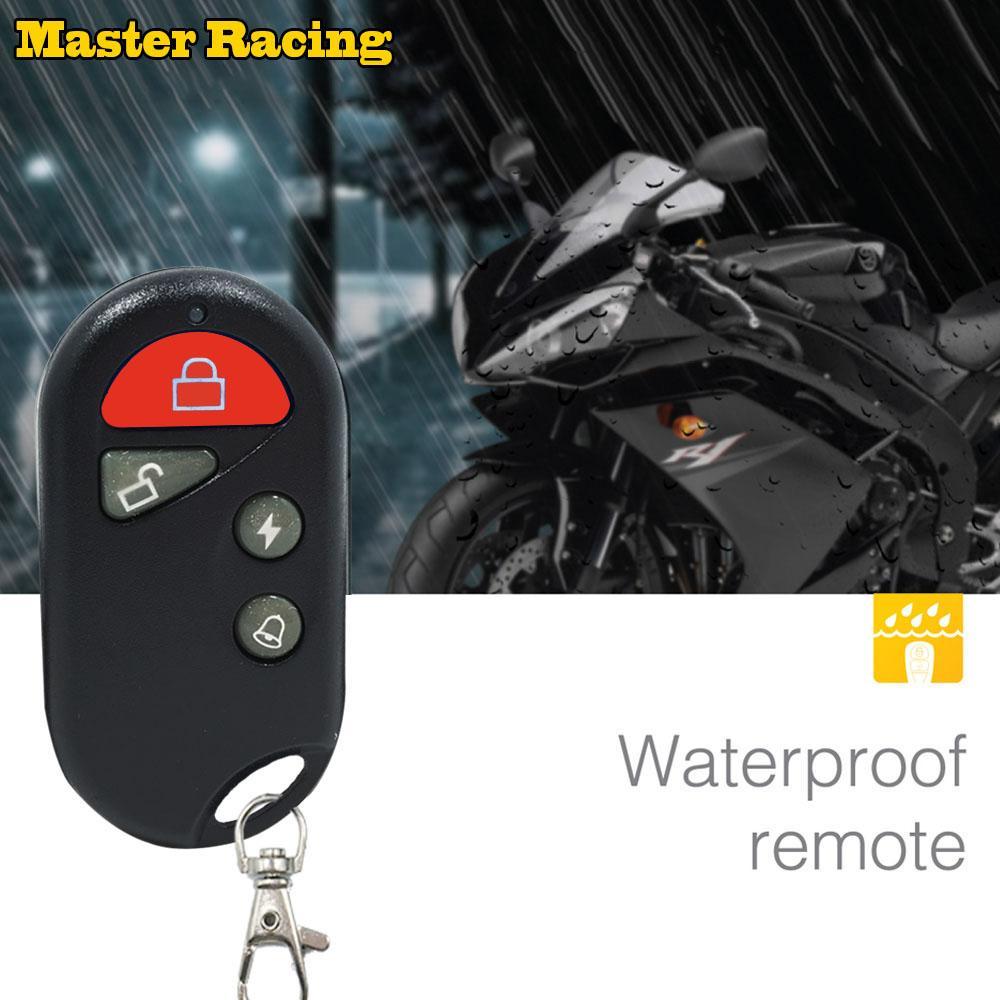Motorcycle Scooter Security Alarm System Motorbike Bike Immobiliser Remote  Control Engine Start For Yamaha Moto