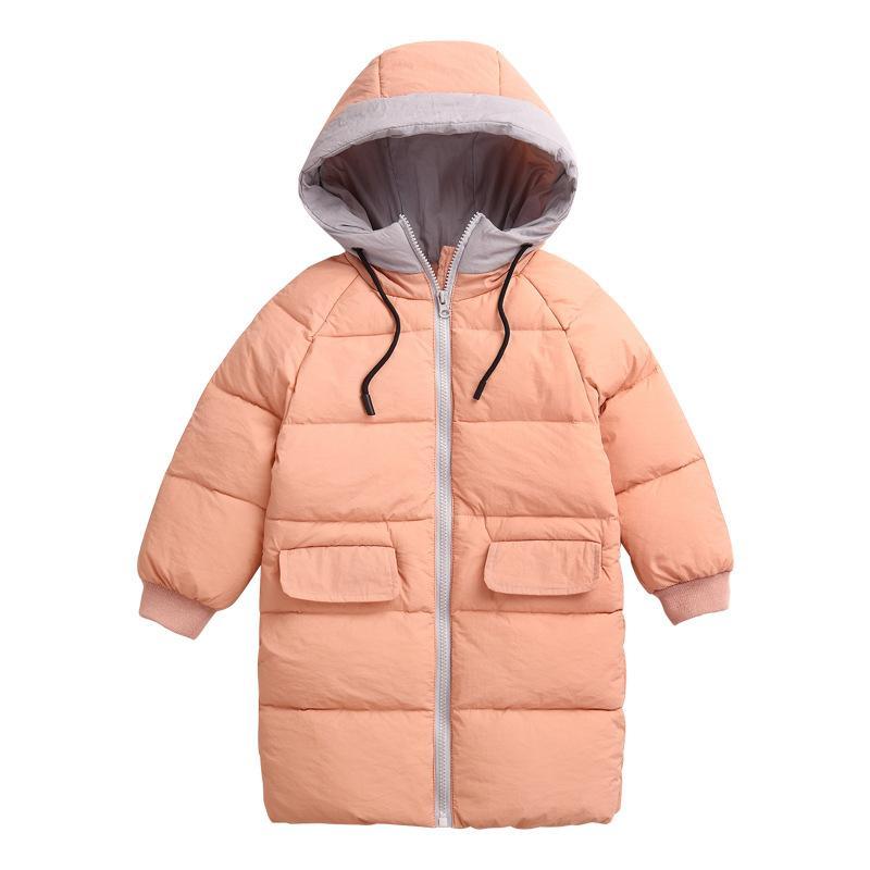 676a9e6c3 Children Jacket Outerwear Boys Girls Winter Coat Warm Down Hooded ...
