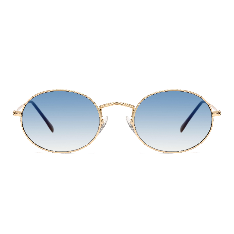Compre Retro Pequeno Quadro Redondo Lente Gradiente Óculos De Sol Clássico  Metal Shades Sol Vidro De Zlgood,  4.88   Pt.Dhgate.Com 1f79a47f87