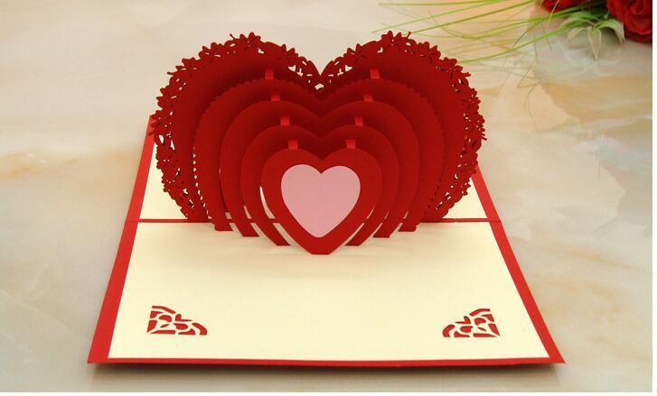2018 hot new 3d pop up greeting card love romantic birthday wedding 2018 hot new 3d pop up greeting card love romantic birthday wedding aniversary valentines day invitations greeting cards gifts aji 772 from m4hsunfo