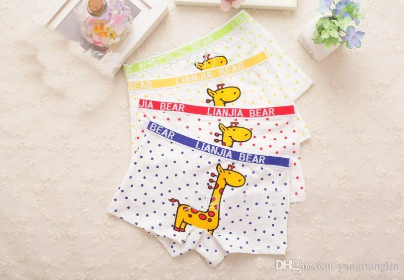 Boxer Shorts Children Underwear Boy Boxer Briefs Cotton Boxers Children Clothes Kids Clothing Fashion Underwear Underpants