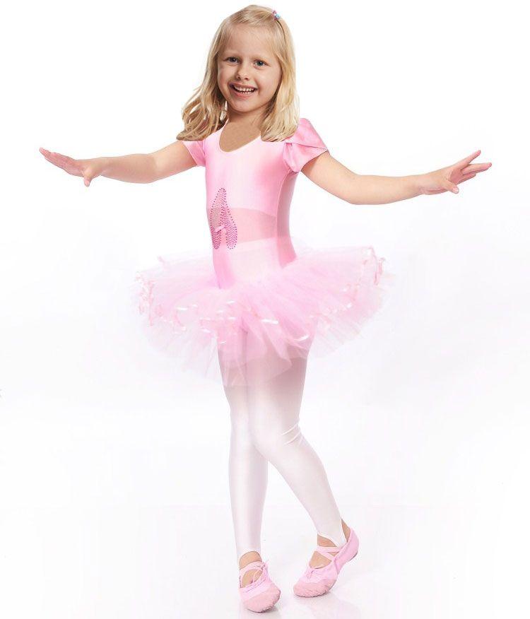 ddd3c5c4d7 Compre Meninas Bailarina Ballet Dress Para Crianças Meninas Trajes De Dança  Roupas Crianças Ballet Trajes Menina Dança Collant Menina Dancewear De  Sandlucy