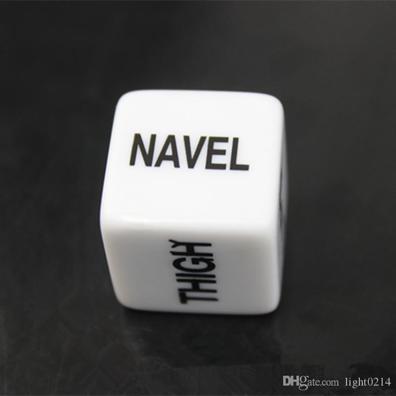 Wholesale New Exotic Novelty Sex Dice Sex Toys Adult Toys Luminous Dice Love The Dice For Adult Games Sex Games Tool